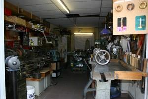Vue intérieure de l'atelier